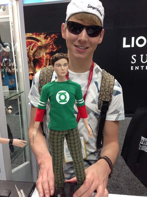 Sheldon needs some shades