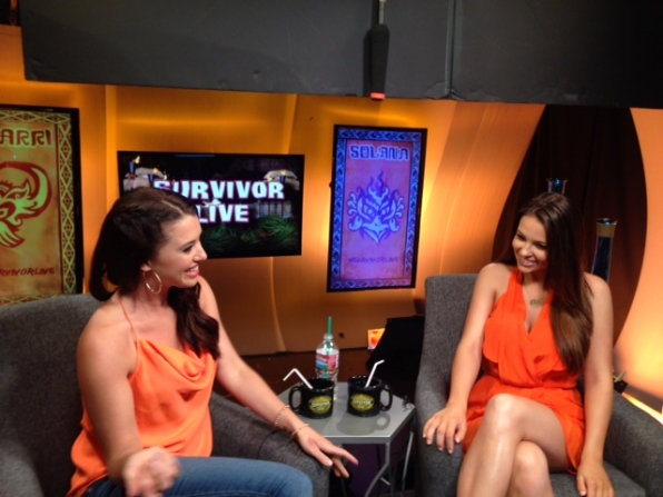 Morgan on Survivor Live