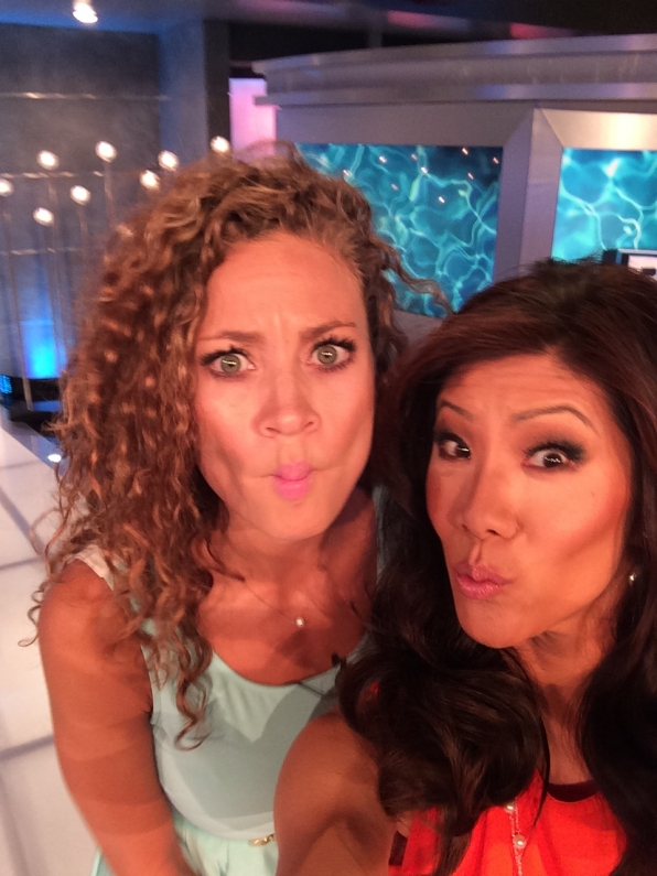 54. Evicted Houseguest Amber and Julie Chen - Big Brother
