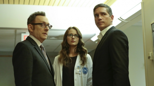Finch, Reese, and Root search for a solution.