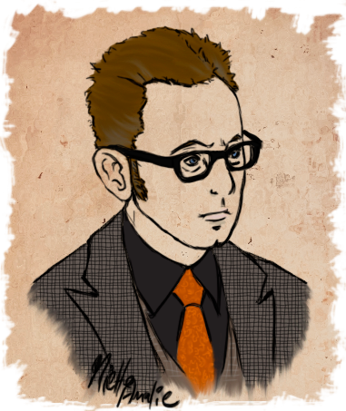 Person of Interest :: Harold Finch Portrait