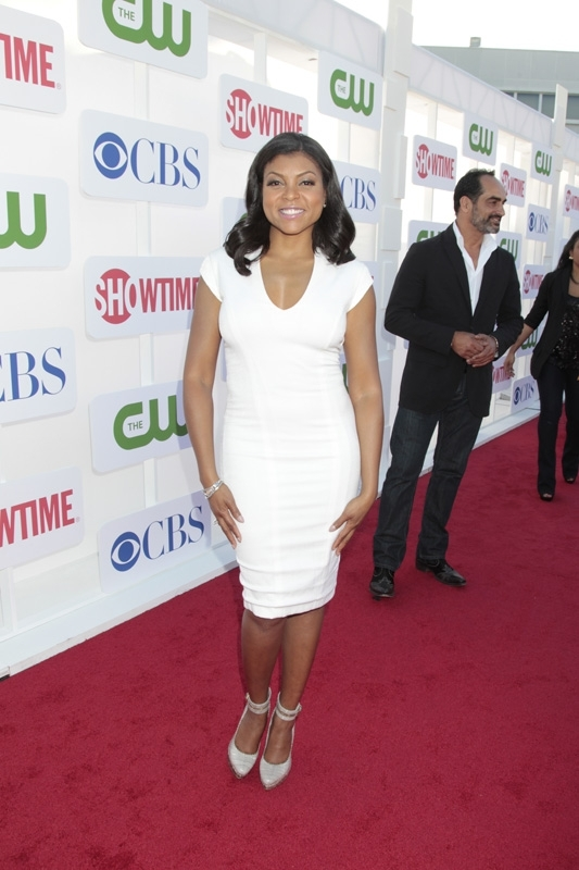 Taraji P. Henson at the TCAs