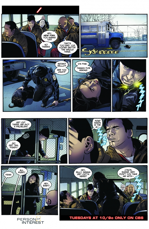 Person of Interest Comic - / S3 E17