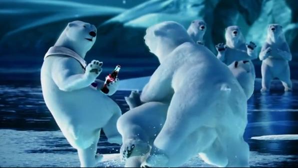5. Polar Bear Catch, Coke (2012)