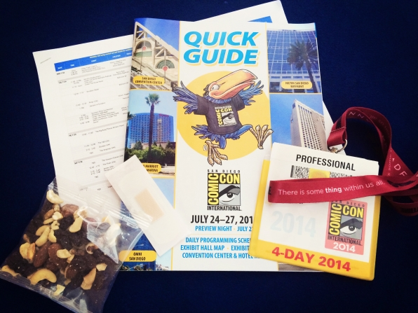 1. Packing Up Your Comic-Con Survival Kit