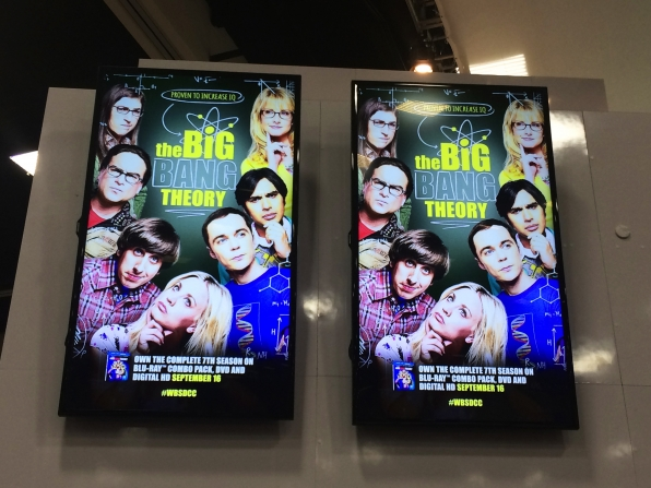 9. A Comic-Con Staple: The Big Bang Theory