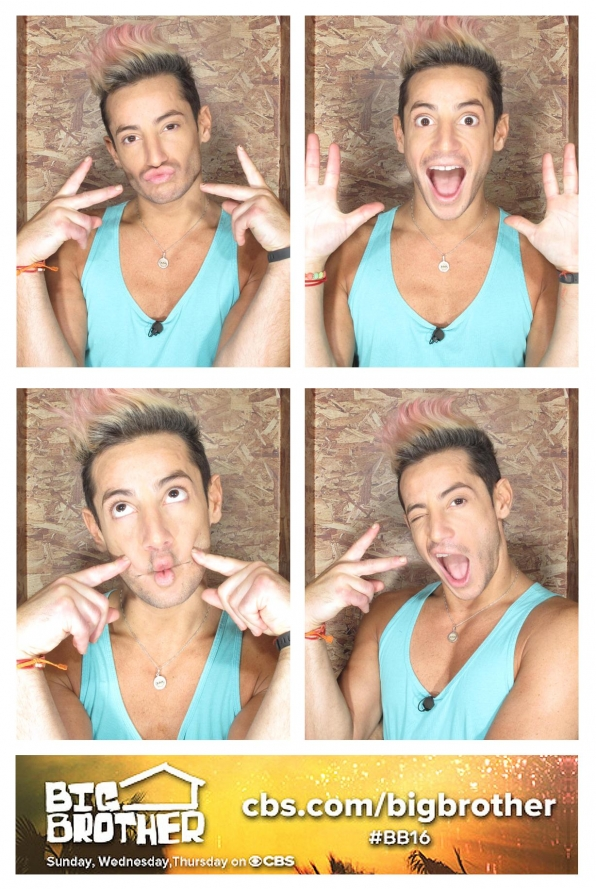 Frankie's many faces