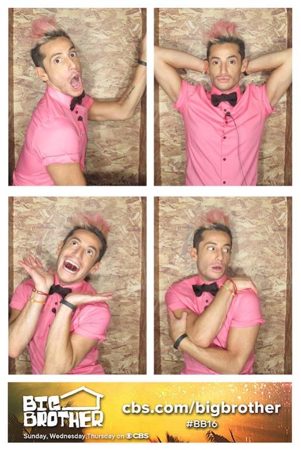 Frankie's poses