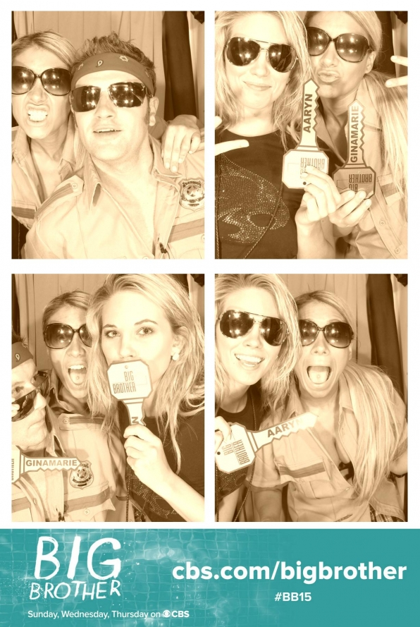 Getting Crazy in the Photo Booth