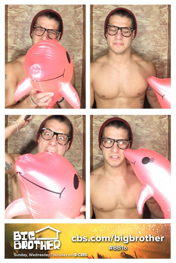 Cody & a pink dolphin