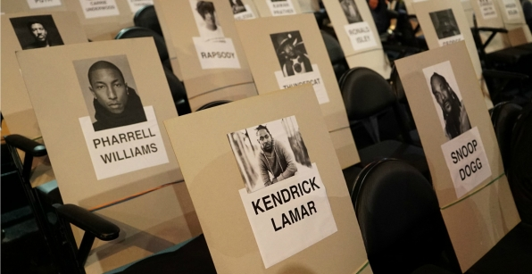 Kendrick Lamar will be in good hip-hop company at the 2016 GRAMMYs.