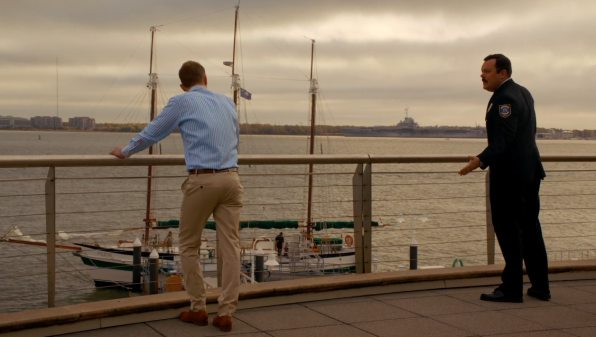 2. The ep's waterfront confrontation brings up a fun fact about the port city.