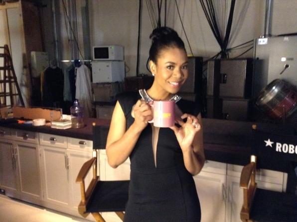 Regina Hall - Behind the Scenes at The Late Late Show