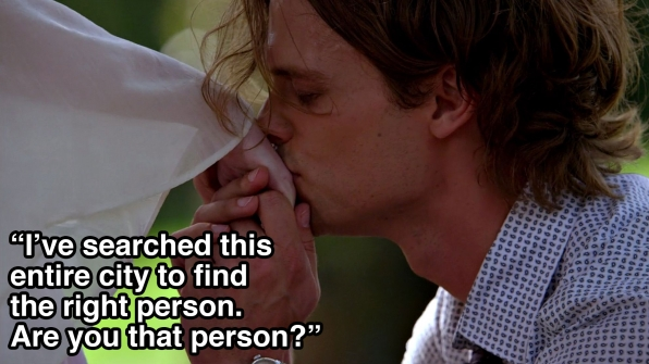 Dr. Reid was Prince Charming, but we already knew that.