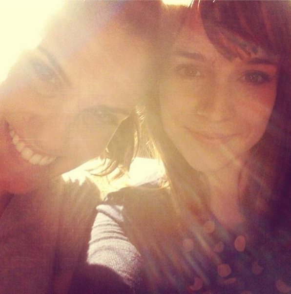10. NCIS: Los Angeles - Daniela Ruah and Renee Felice Smith