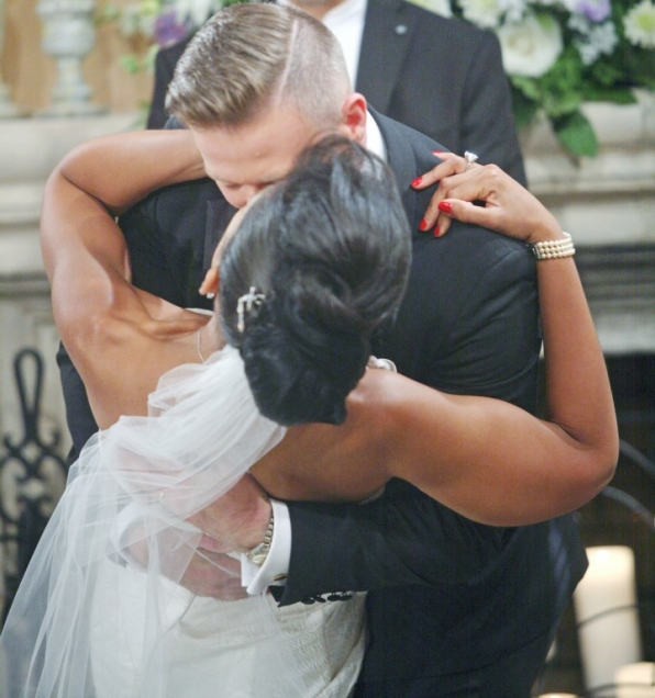 "Rick and Maya passionately said ""I do."""