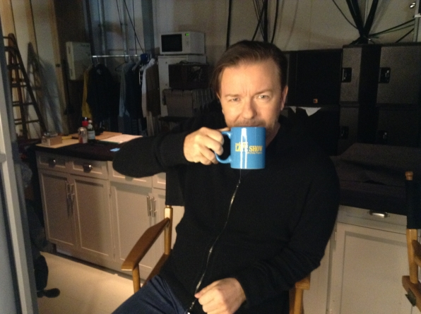 Ricky Gervais - Behind the Scenes at The Late Late Show