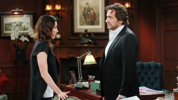 Steffy tells Ridge her worries about Liam.