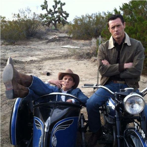 Vintage Motorcycle Sidecar