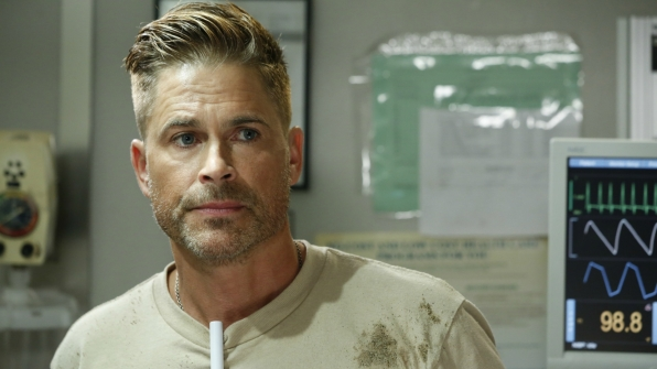 Rob Lowe on Code Black