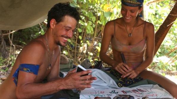 Rob Mariano backstabs Lex van den Berghe on Survivor: All-Stars