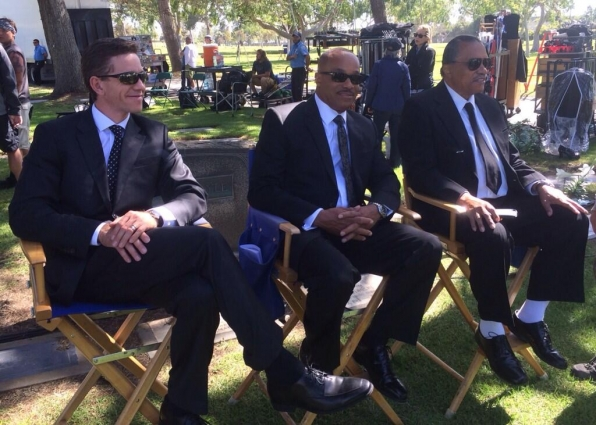 39. Brian Dietzen and Rocky Carroll - NCIS