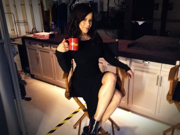 Rosie Perez - Behind the Scenes at The Late Late Show
