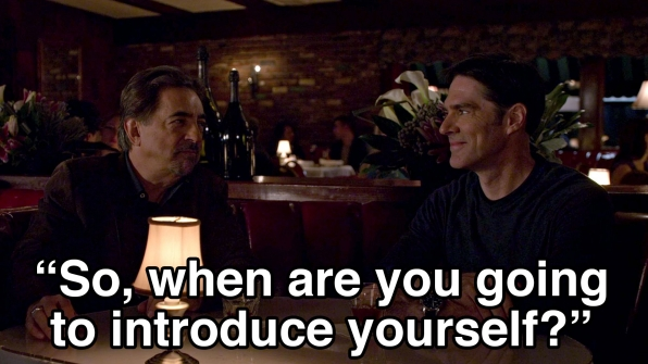 SSA David Rossi and Aaron Hotchner went on a double date.