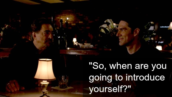 Rossi and Hotch went on a double date.