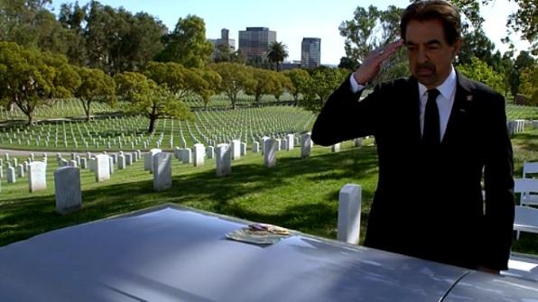 When Sergeant Scott passed away.