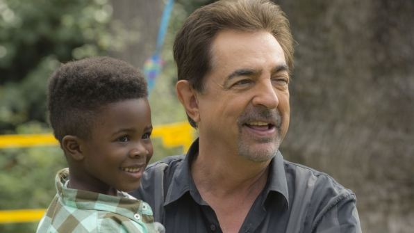 David Rossi played grandpa.