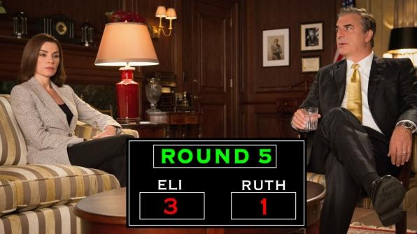 Round Five: The Florricks Fight