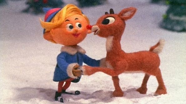 And Rudolph is bringing his friends