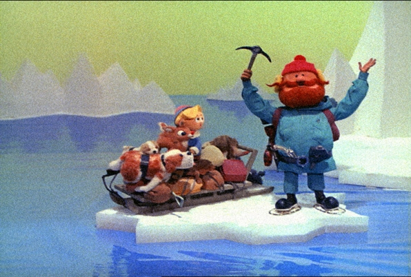 Rudolph with Hermey