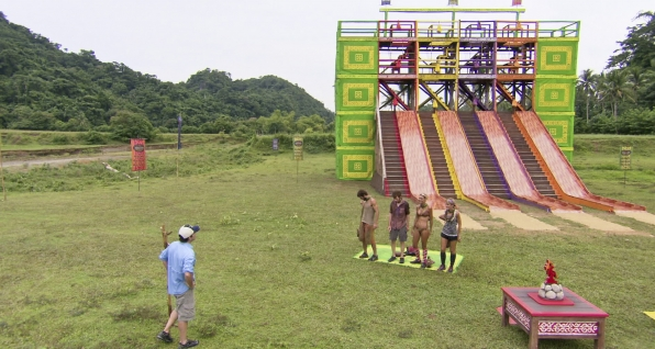 "Immunity Challenge in the Season 26 Finale ""Last Push"""