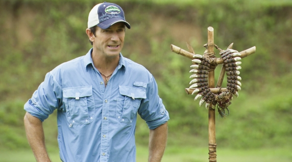 "Jeff Probst in the Season 26 Finale ""Last Push"""