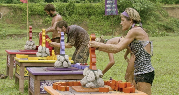 "Working on the challenge in the Season 26 Finale ""Last Push"""