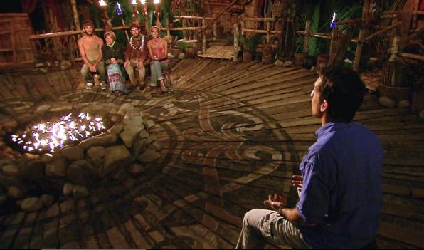"Tribal Council in the Season 26 Finale ""Last Push"""