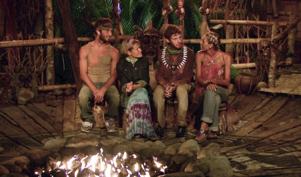 "Sitting at tribal council in the Season 26 Finale ""Last Push"""