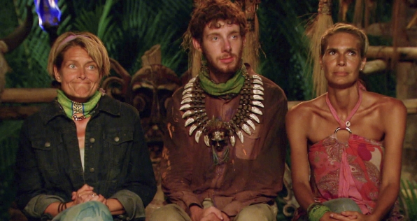 "Final 3 at tribal council in the Season 26 Finale ""Last Push"""