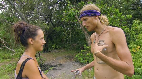 Ciera and Tyson chat in Season 27 Episode 10