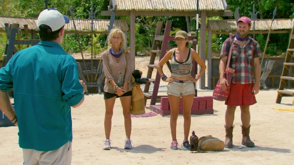 Tina, Laura and Caleb in Season 27 Episode 12
