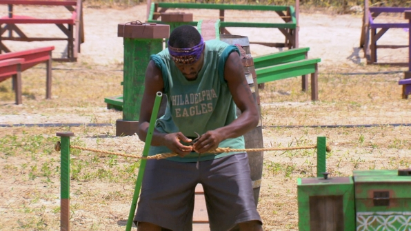 Gervase competes in Season 27 Episode 12
