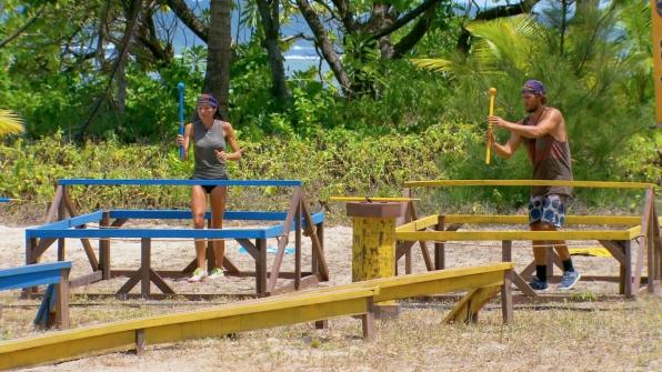 Monica and Hayden compete in Season 27 Episode 12