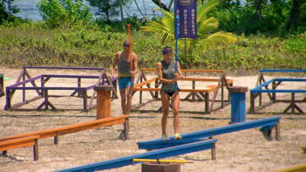 Tyson and Monica compete in Season 27 Episode 12