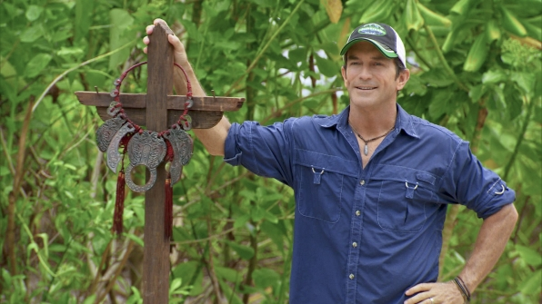 Jeff Probst in the Season 27 Finale