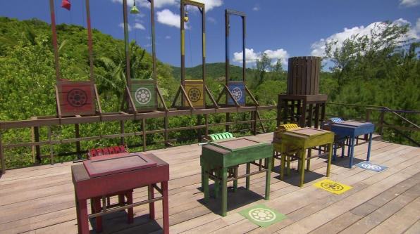 Final Immunity Challenge in the Season 27 Finale