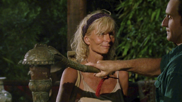 Tina is voted out in the Season 27 Finale