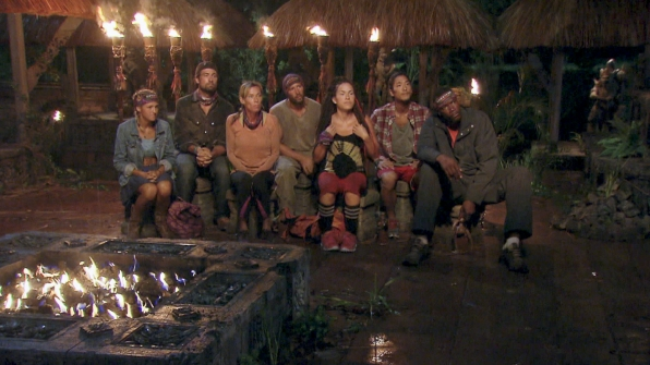 Tribal Council in Season 28 Episode 4