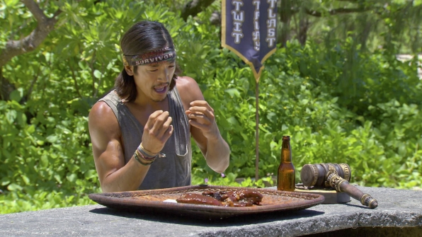 Woo Wins a Delectable Rack of Ribs